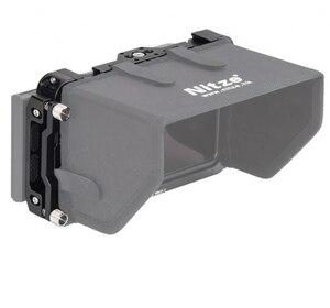 """Image 5 - CAGE pour moniteur NITZE 5 """"pour moniteur ATOMOS NINJA V / SHINOBI avec serre câble HDMI TP NINJA V"""