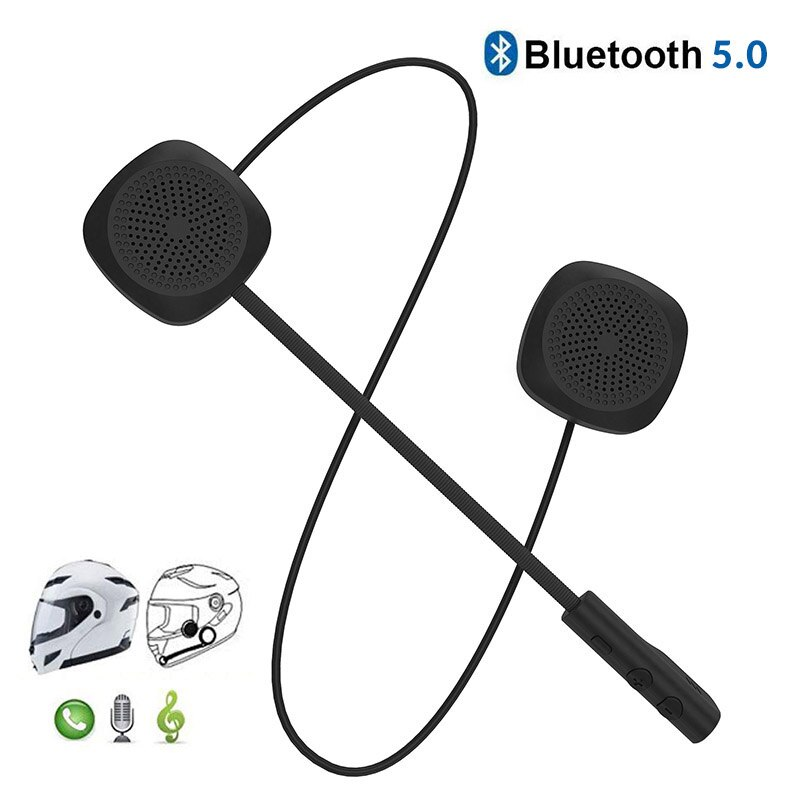 Headset Bluetooth Earphone Bicycle-Helmet Handsfree-Speaker Call EDR Dual-Visor title=