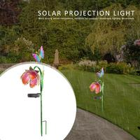 LED zasilany energią słoneczną śnieg w kształcie lotosu oświetlenie trawnika ogród dziedziniec krajobraz lampy dekoracyjne białe oświetlenie w Lampy LED na trawnik od Lampy i oświetlenie na