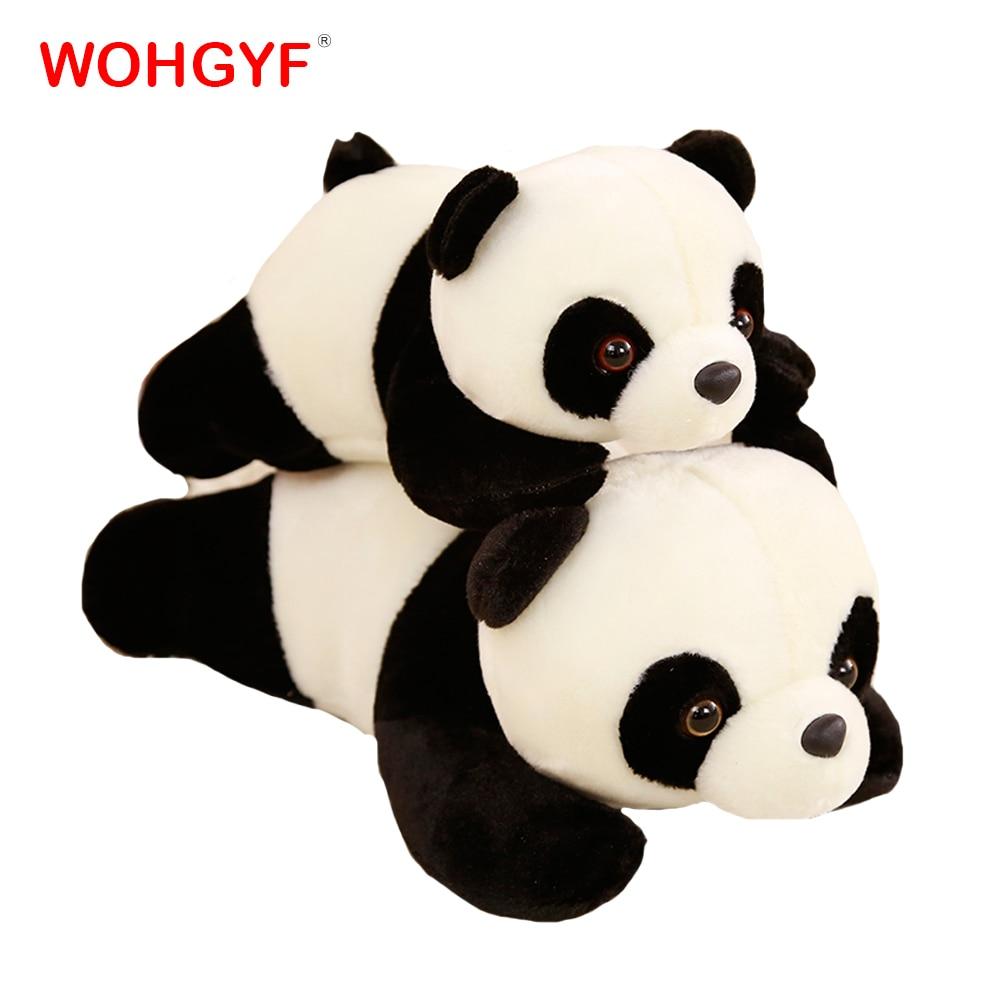 1 unidad, 30 cm/35 cm/50 cm, almohada de Panda de felpa, juguetes, lindos animales de peluche, juguete, almohada de Panda, regalo de cumpleaños, regalos para niños y novias Lote de 8 unidades de figuras de acción de Panda, Panda, Mini modelo de PVC para niños, juguetes de animales para niños, regalos de cumpleaños