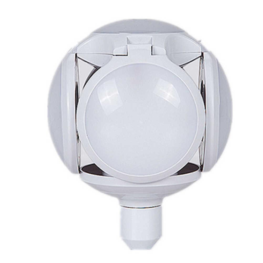 Энергосберегающий светильник, декоративная лампа, современная, 5 листов, 30 Вт, светодиодная телескопическая лампа для дома, высокая яркость, Футбольная форма, складные принадлежности
