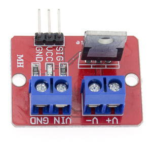Image 5 - 100pcs/lot TOP MOSFET Button IRF520 MOSFET Driver Module for   ARM Raspberry pi