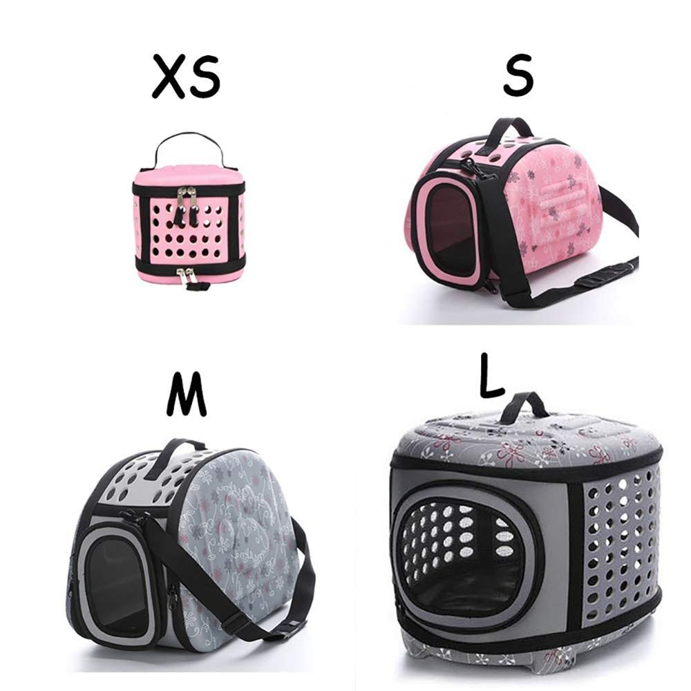 Portable Large Dog Backpack Carrier Saddle Bag 1