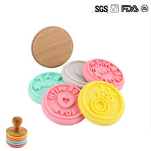 Cute Cookies Silicone Mold Fondant Mould  Baking Cake Decorating Tools Chocolate Gumpaste Sugarcraft Kitchen Accessories