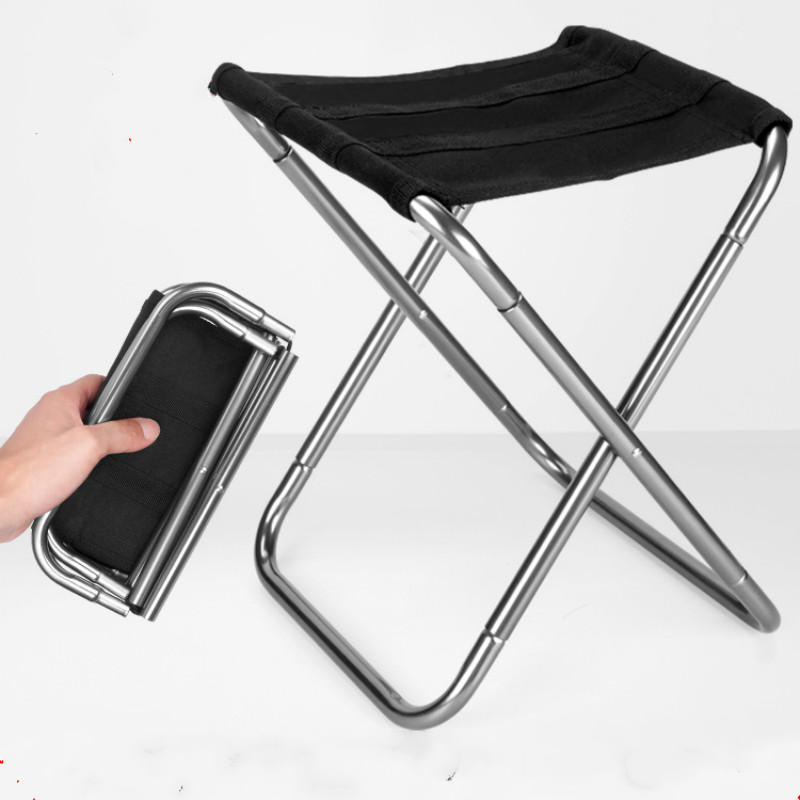 Outdoor Camping Chair Oxford Cloth Portable Folding Camping Chair Seat for Fishing Festival Picnic BBQ Beach Stool pf101903