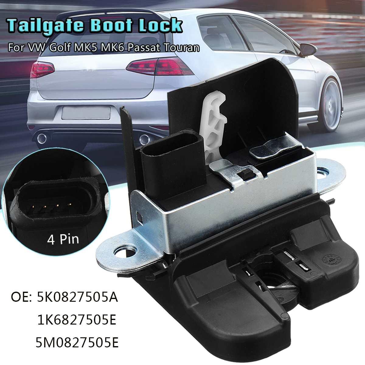 5K0827505A 1K6827505E 5M0827505E Tailgate Boot Lock For VW Golf MK5 MK6 Passat Touran REAR TRUNK LOCK LID LOCK LATCH