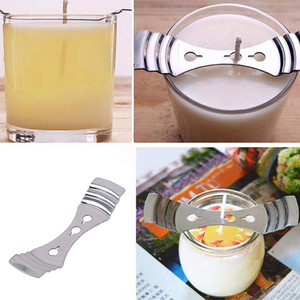 Household Kitchen Accessories Metal Candle Wicks Holder Centering Device Candle Making Kit Wax Melt Core Auxiliary Tool TSLM2