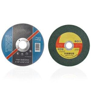 Image 2 - XCAN 10pcs Diametro di 100/107/115 millimetri In Acciaio Inox Resina Matel Dischi Da Taglio Grinding Cut off Wheel misura Angle Grinder Utensili Elettrici