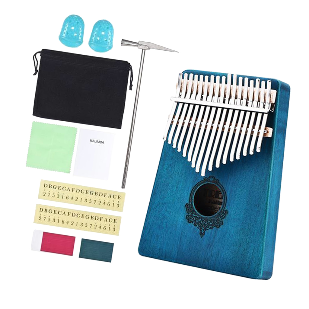Kalimba Thumb Piano Professional Series Instrument Kits 17 Keys Finger Piano Mbira Musical Instrument Gift With Protable Bag