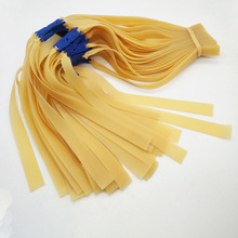 70 Pcs 1.0mm Slingshot Flat Rubber Bands Use for Hunting Shooting Profesional Latex Flat Elastic Resilient for Catapult