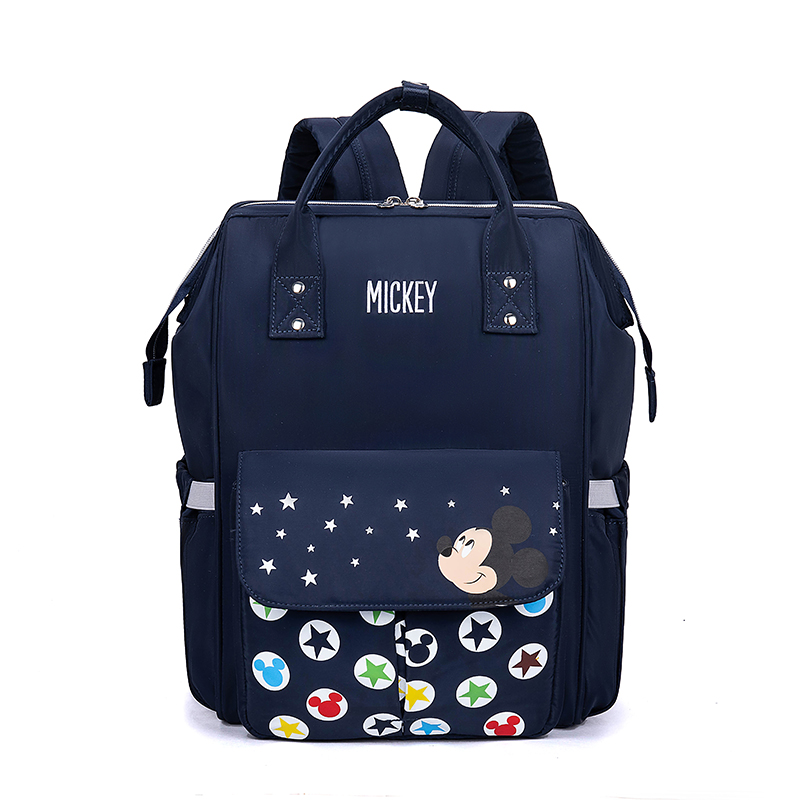 Image 3 - Disney Diaper Backpack Baby Bags for Mom Mickey Minnie Wet Bag Fashion Mummy Maternity Diaper Organizer Travel USB Nappy TravelDiaper Bags   -