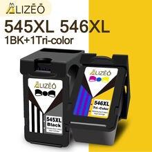 545XL 546 XL PG545 CL546 ALIZEO Compatível Cartucho de Substituição Para Canon PG 545 Para MG3050 PG545 2550 2450 2550S 2950 de Impressora