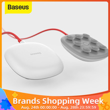 Baseus Suction Wireless Charger For iPhone X Xs Max XR Samsung Note 9 S9 Wireless Charging Design For Gaming built-in Cable