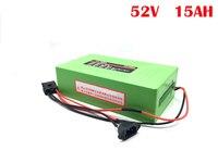 À prova dwaterproof água 48 v 52 v 15ah bateria de íon de lítio ebike bateria 750 w scooter elétrico com 15a bms 2a carregador rápido