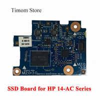 Placa SSD para HP 14-AC 14-AC151NR, placa de circuito de 32GB EMMC, placa SSD de trabajo Original, 814050-001, MENTOS10, 6050A2760301, DB, A01