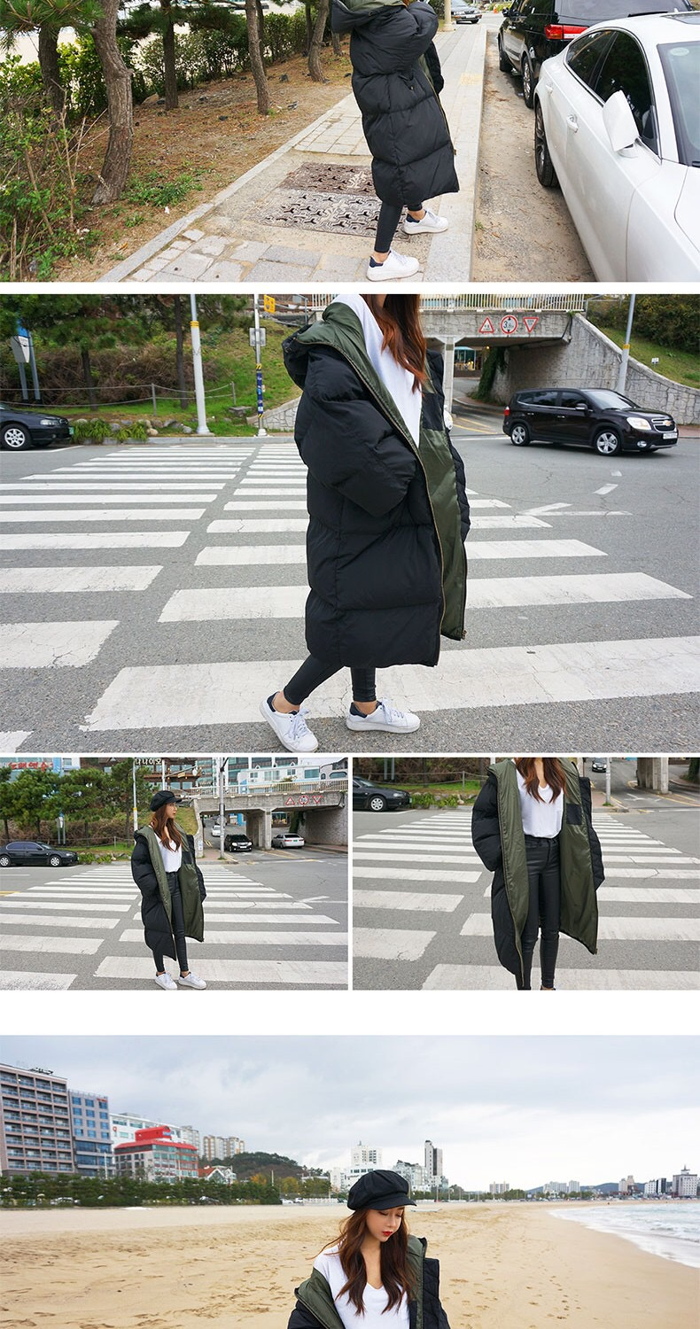 Arrival Oversize Parkas with 5