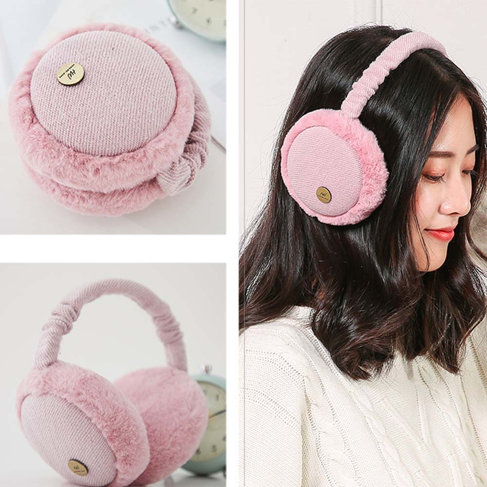 Winter Earmuffs Warm Female Korean Cute Earmuffs Ear Bag Men Ear Warm Winter Ear Cap