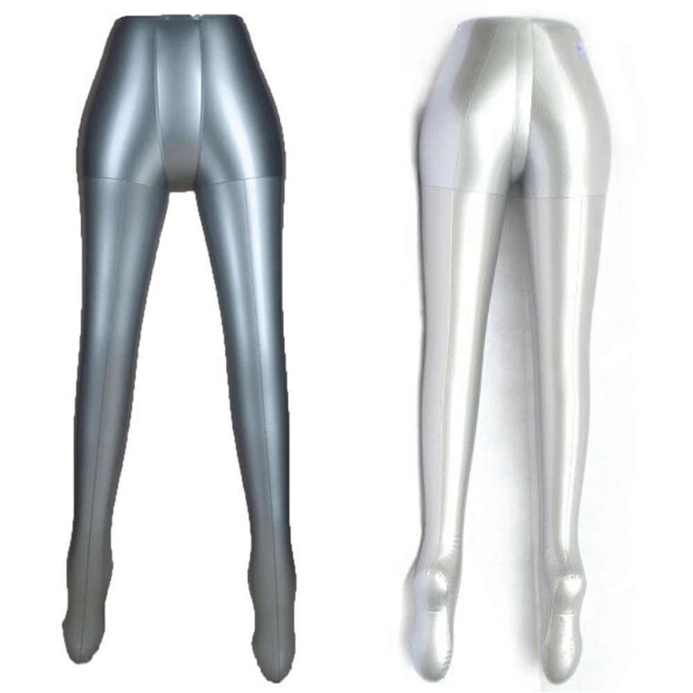 풍선 여성 바지 trou 속옷 마네킹 더미 몸통 다리 모델 쇼 서 가짜 다리