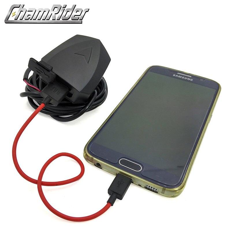 Converter 36V 48V 72V 100V Adapter Black EBike Handlebar 5V USB Quick Charger