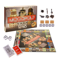 Family Board Game Doctor Who Card Game Toys 50th Anniversary Collector's Edition Puzzle Toys for Children