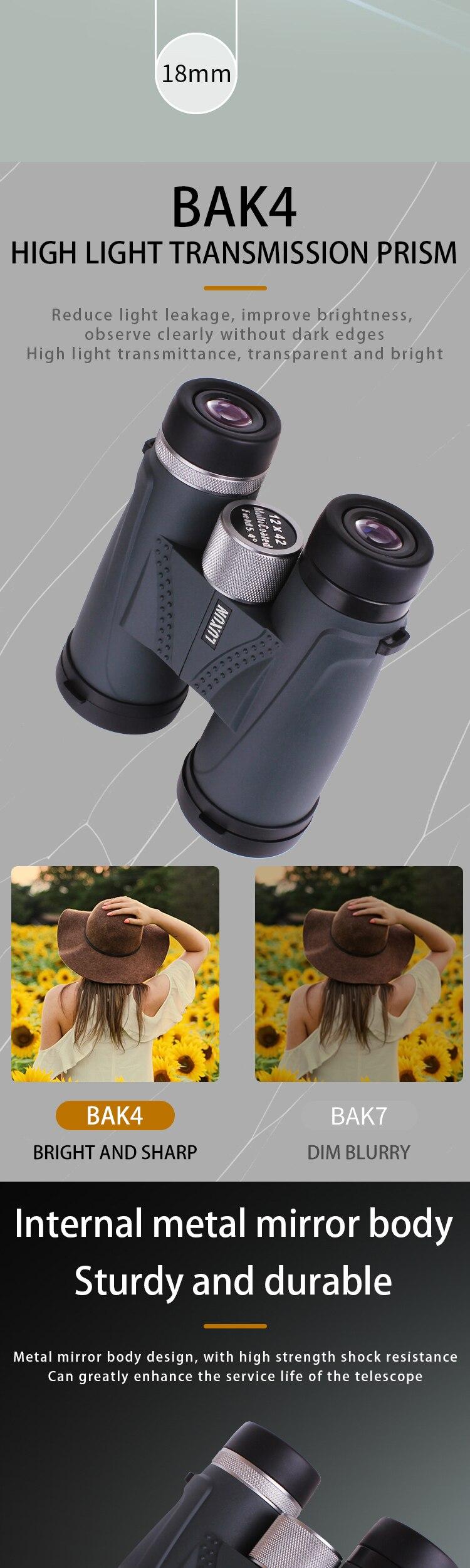 de alta potência binóculos telescópio profissional lll visão noturna para a caça