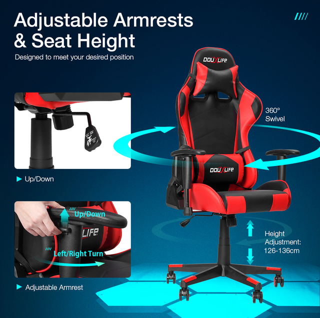 Computer Chair Chair Comfortable Home Students Sitting Net Cloth Chair Can Lift Contracted Office Chair 7 Days Fast delivery 3