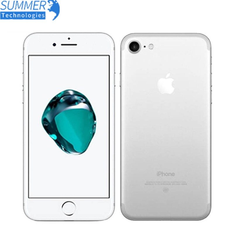 Original Apple IPhone 7 Mobile Phone 2GB RAM 32/128GB/256GB ROM Quad-Core 12.0MP Fingerprint Touch ID Used Smartphone