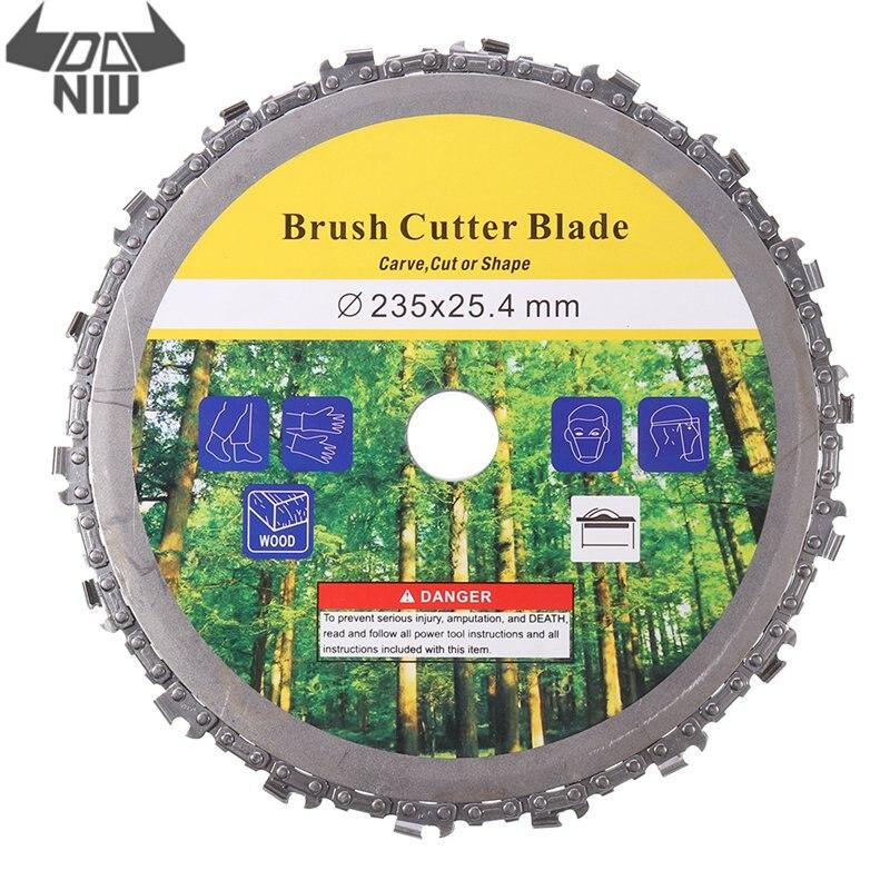 DANIU 1Pcs 230mm 9 Inch Brush Cutter Blade Chain Disc Grass Trimmer Cutter For Lawn Mower Replacement Accessories