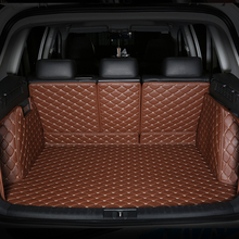 All Surrounded Durable Special Car Trunk Mats for Toyota Venza FJ Cruiser Sienna Tundra Sequoia Yaris Highlander 3D Carpets best quality special trunk mats waterproof durable leather carpets for toyota highlander 2014 2015 2016 2017