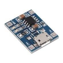 Лот TP4056 1А Липо аккумулятор заряжается доска зарядное устройство модуль литиевая батарея DIY микро-порт Майк USB Входное напряжение 4.5 в - 5.5 В