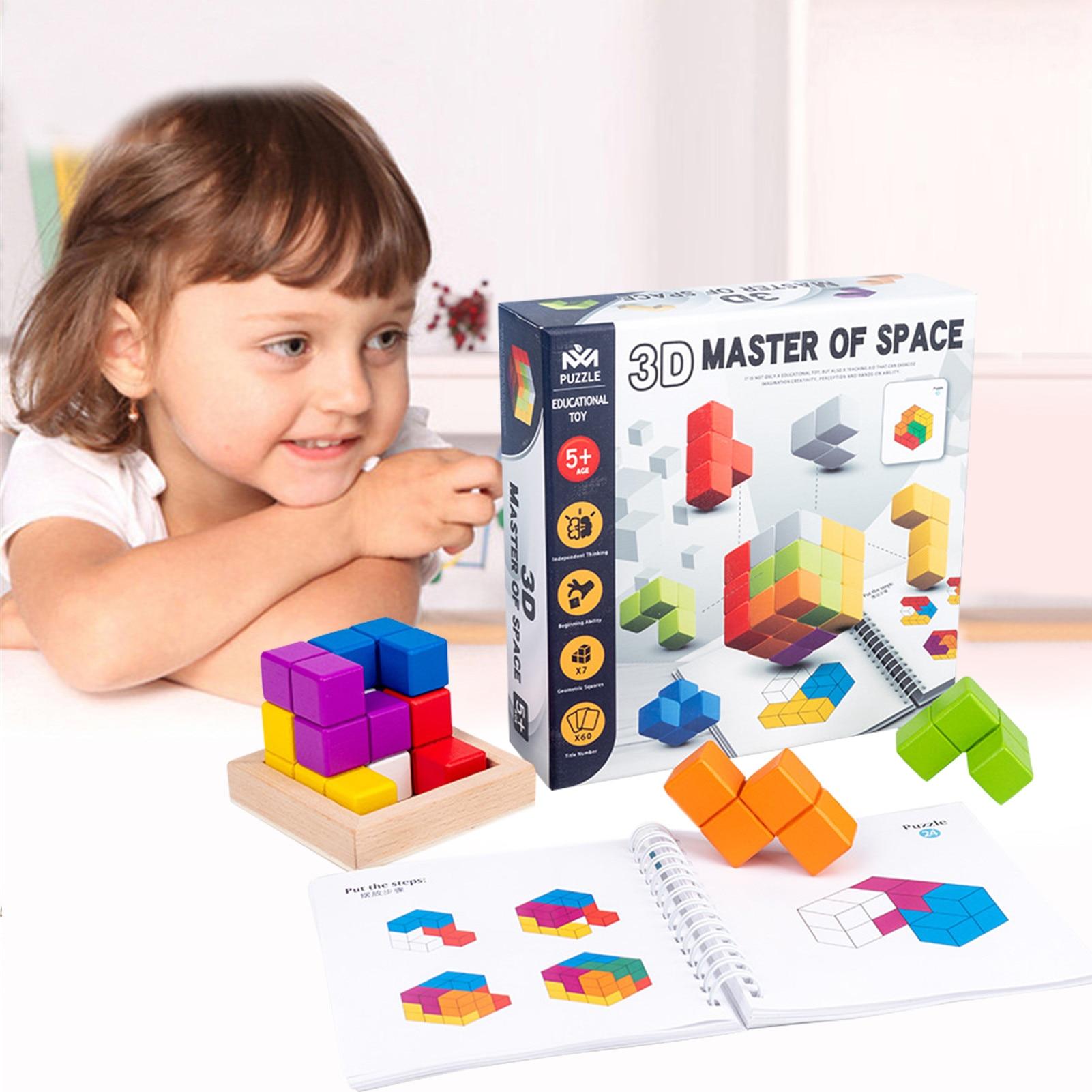 criancas tetristoys 3d rubikscuscube brinquedos educativos luban 04