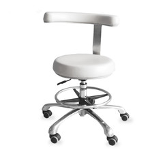 Doctor-Stool Dental Surgical with 360-Degree Rotation Armrest Assistant Chair Nurse's