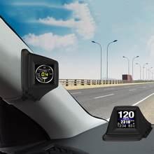 HUD GADGET-ordenador A bordo OBD2 + GPS HUD, ajuste de pilar A, instalar Turbo RPM, presión de aceite, agua, temperatura, velocímetro GPS