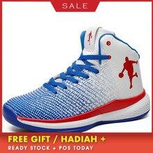 BOUSSAC Basketball Shoes Mens Boys Boots Light High Ankle Zapatillas De Baloncesto Outdoor Plus Size Sneakers