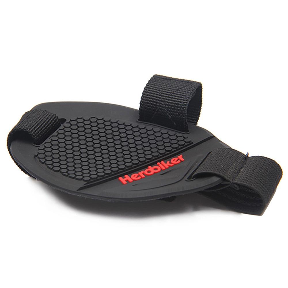 HEROBIKER Profi Motorrad Stiefel Abdeckung Moto Shifter Wachen Scuff Mark Schutz Getriebe Motorrad Schuhe Abdeckung Shift Pads