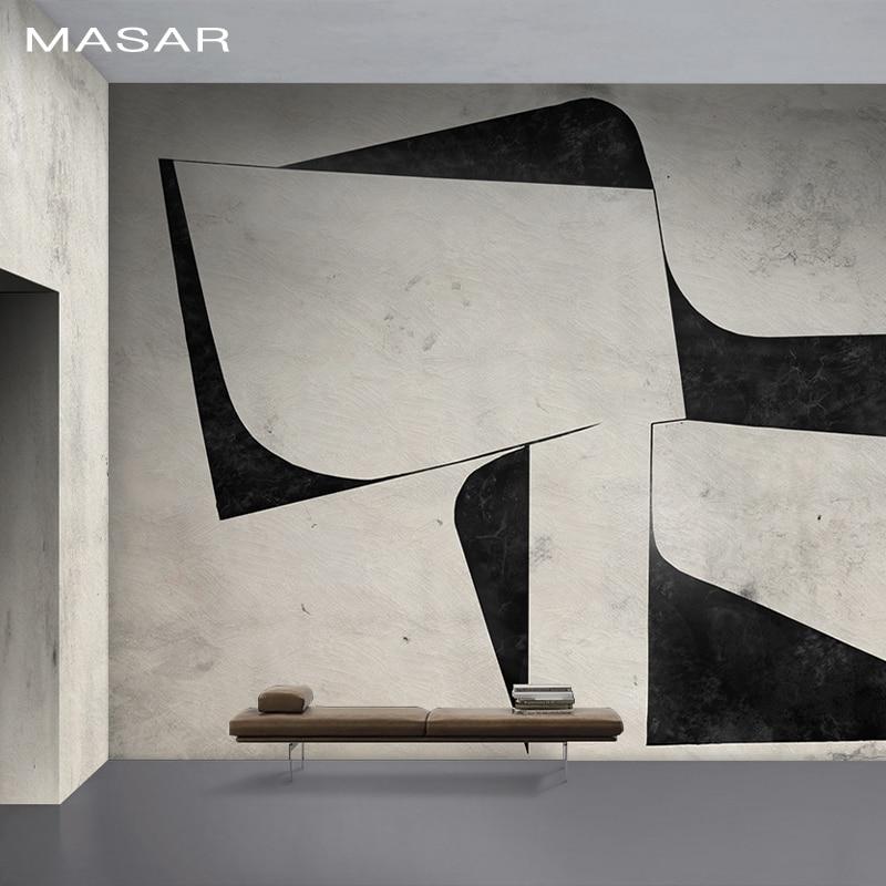 MASAR Original Art, Minimalist, Custom Mural, Living Room, Bedroom, Bedside Dining Room, Hallway, Background Wall Wallpaper