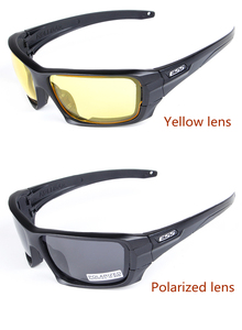 Image 5 - 4レンズ偏光サングラスuv保護メガネTR90軍google防弾眼鏡ハタネズミjbr cs