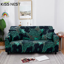 All-Inclusive High Stretch Printed Spandex Sofa Cover,With Armrests 1 2 3 4 Seater,Living Room L-Shaped Corner Sofa Need 2 Piece