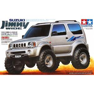 Модель Тамия, строительные наборы для автомобилей, 1/32 весы, Suzuki Jimny, сборка, игрушка 4X4, гараж, внедорожный набор, игрушки для детей, взрослых