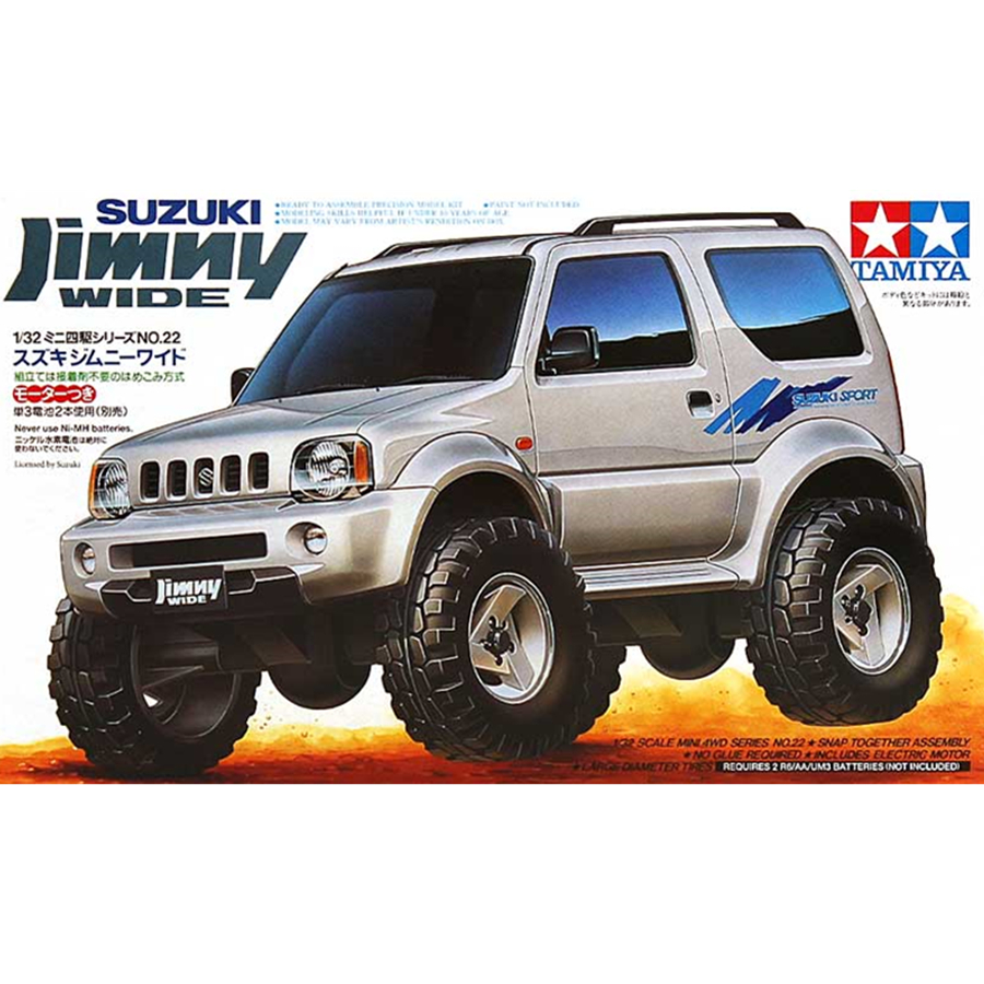Tamiya Model Car Building Kits 1/32 Scale Suzuki Jimny Assembly Toy 4X4 Garage Off Road Kit Toys For Children Kids Adult