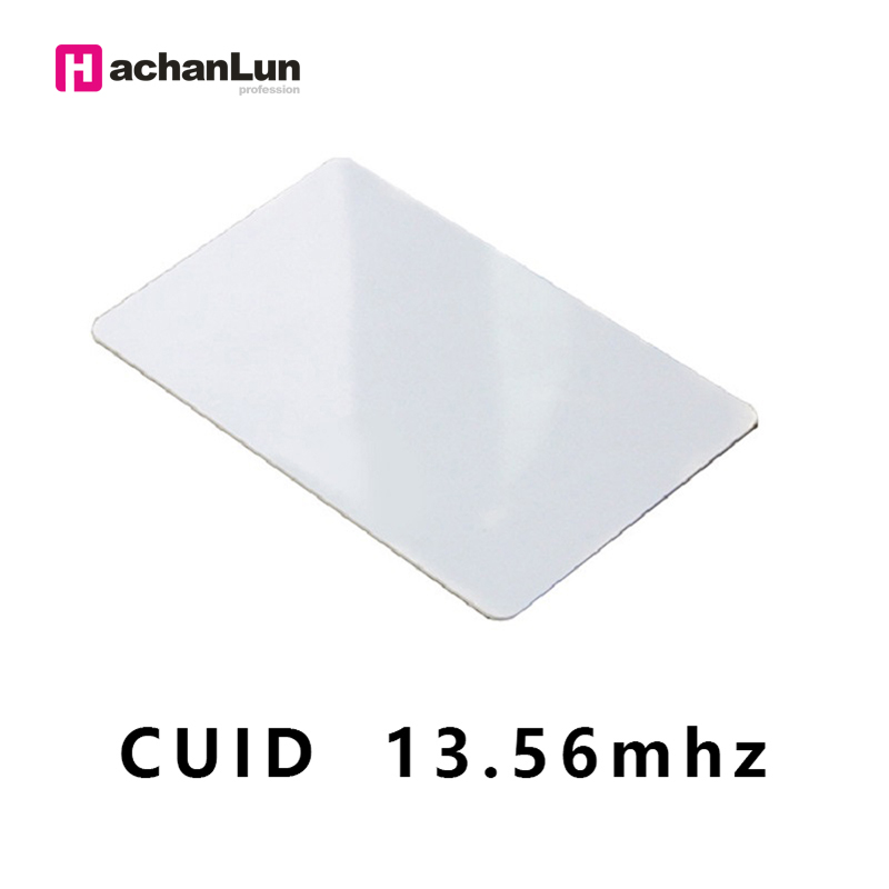 10 Pieces / Batch RFID CUID UID Card Modify UID13.56MHz Access Control Thin Card Control Access Control Label Badge