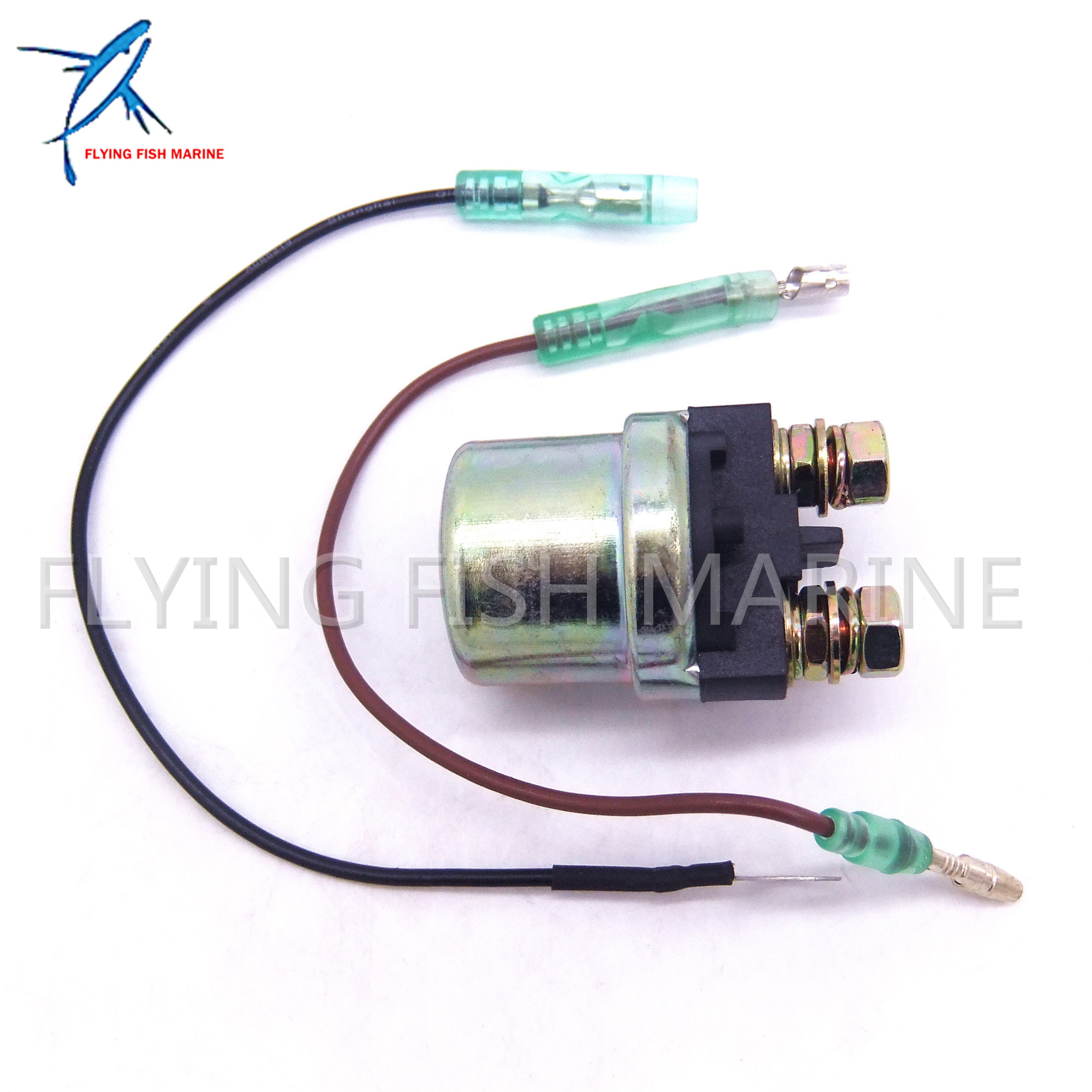 6G1-81940-00 6G1-81941-10 6G1-8194A-10 Starter Relay / Solenoid Assy For Yamaha Boat Motor 9.9HP 15HP 20HP 25HP