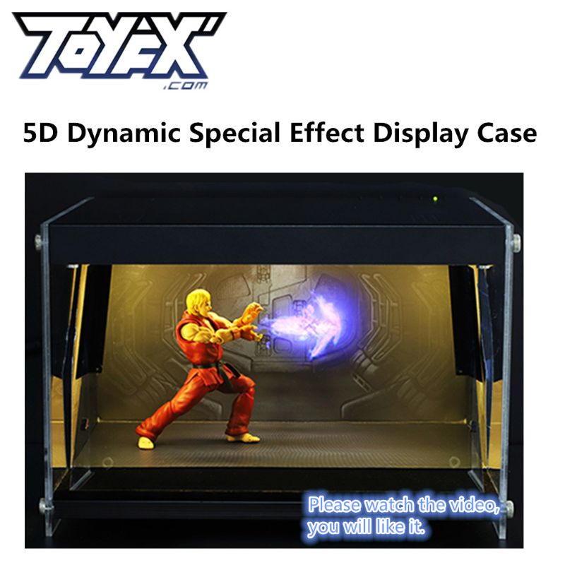 ToyFX 5D Display Case Super Film Special Effects Box Action Figure Model Toy