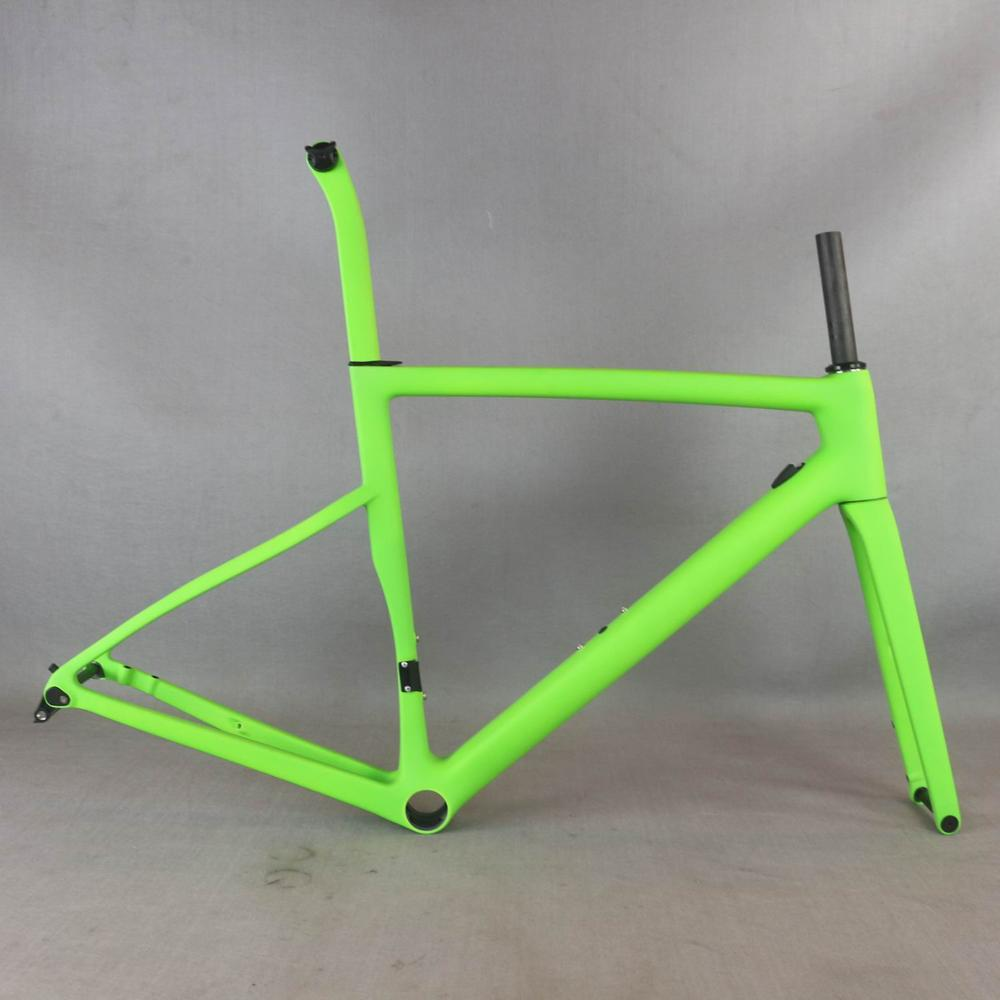 2021 Custom Painting  Flat Mount Disc Carbon Road Frame  Bicycle Frameset  T1000  New EPS Technology Disc Carbon  Frame TT-X19