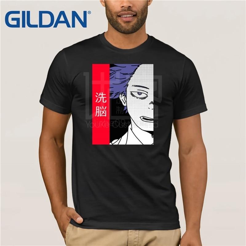 Рубашка GILDAN Boku no Hero Academia вдохновленная рубашкой-рубашка Hitoshi Shinsou My Hero Academy аниме Manga-BNHA аниме рубашка