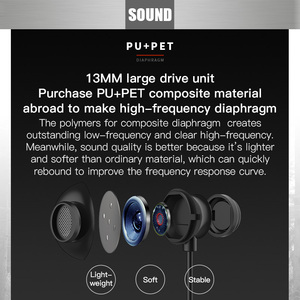 Image 3 - Bluedio TN2 wireless Bluetooth sport earphone active noise cancelling Wireless Headset for phones and music