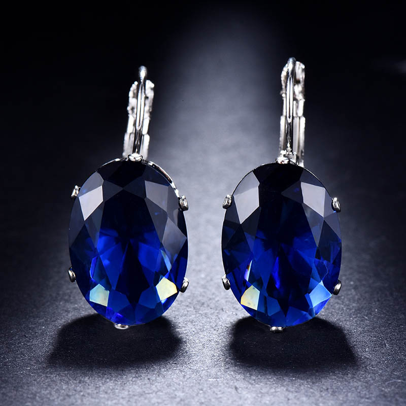 H1289aac7951f463cb1f0e839ad7b1a46g - Cellacity Korean 925 silver Earrings with oval citrine gemstone  Engagement Earrings Drop Earrings For Women Jewelry wholesale