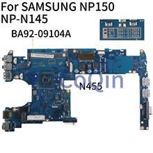 KoCoQin Laptop motherboard Für SAMSUNG NP150 NP-N145 N455 Mainboard BA41-01400A BA92-09104A SLBX9
