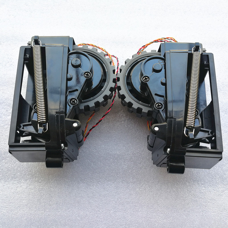Original Left Right Wheel For Robot Vacuum Cleaner Ilife V7s Plus V7s Pro Robot Vacuum Cleaner Parts Wheels Include Motor