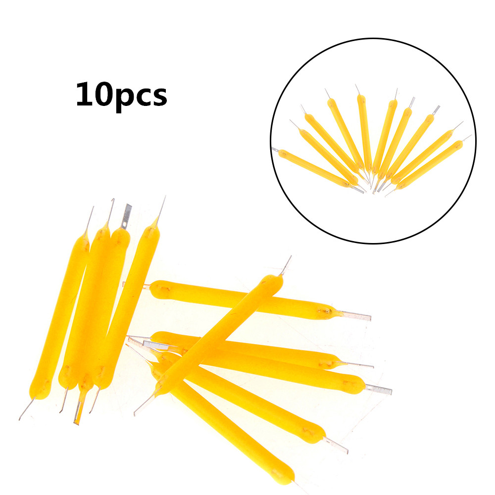 10Pcs 26mm LED COB Solar Power Filament Super Bright Bulb Light Source Lighting Tool High Quality